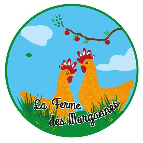 logo ferme des Margannes